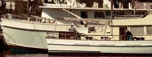 robert santafede boats at the dock