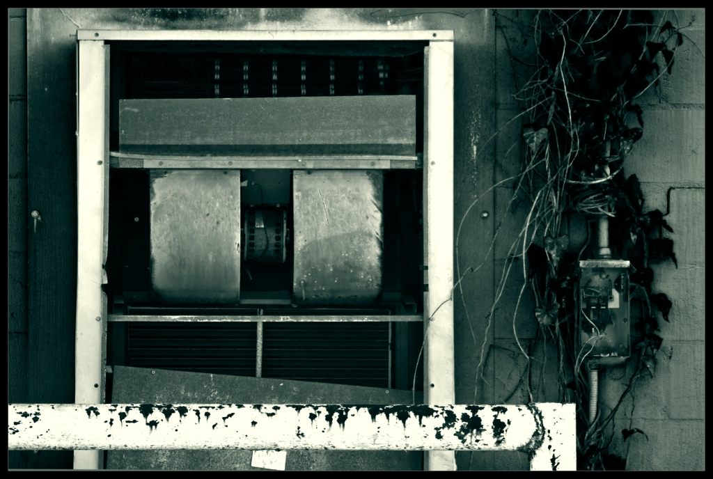 """""""Interface"""" - Black & White Industrial Photography by Robert Santafede"""