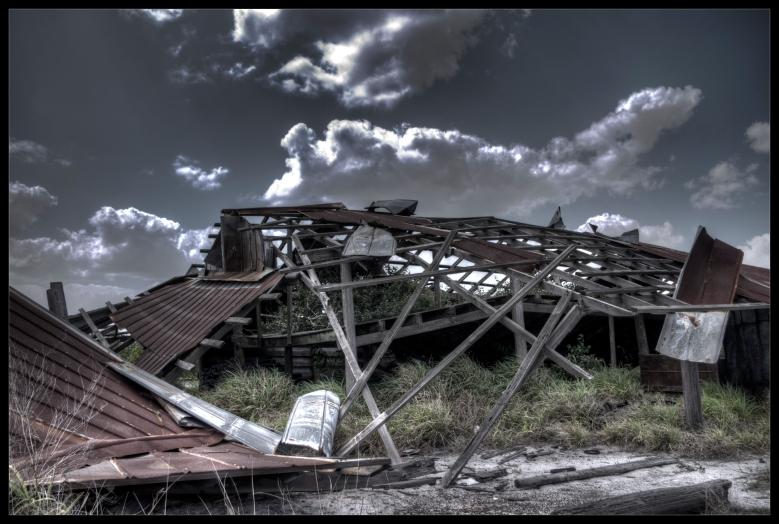 """The End of an Era"" - a photograph by Robert Santafede"